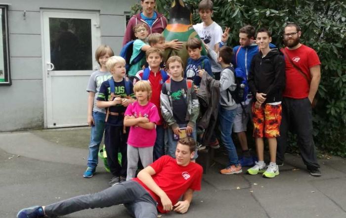 Teilnehmer der Jugendfahrt 2016