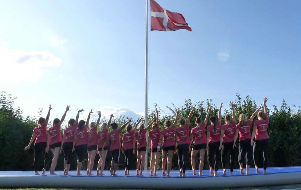 12. Trainingscamp in Dänemark der Turnerinnen des SFD